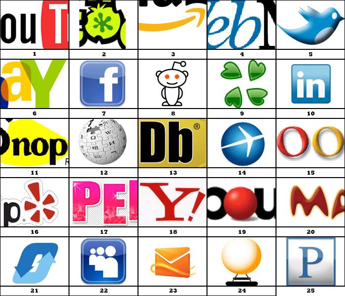 Can You Name the Website Pin? | Logos | Pinterest | Website logo ...