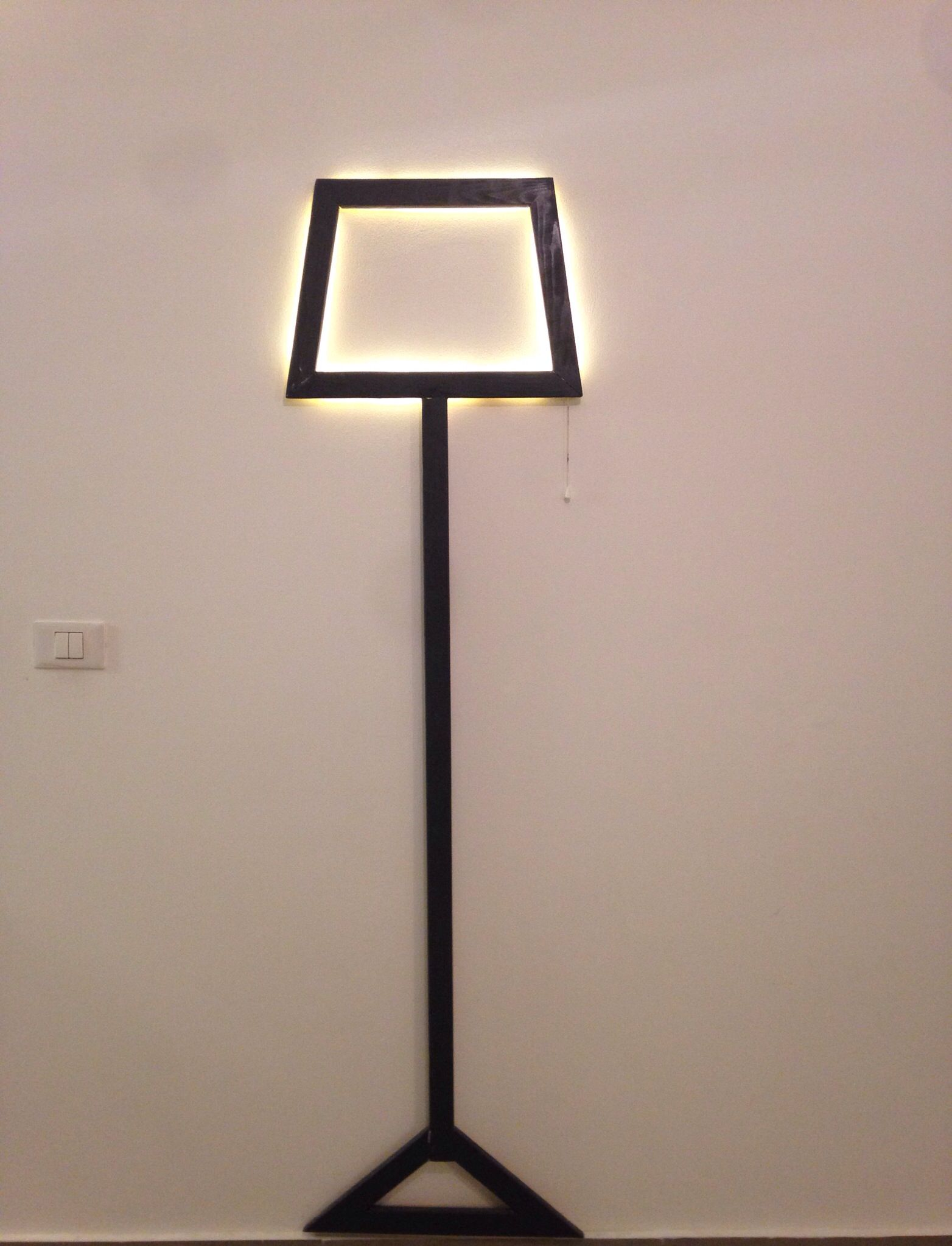 2d Led Lamp That We Build For The New House Lamp Table Lamp Led Lamp
