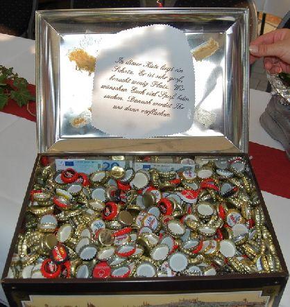 Geschenkidee silberne Hochzeit  Hochzeit  Pinterest  Geschenke Silberhochzeit geschenk und