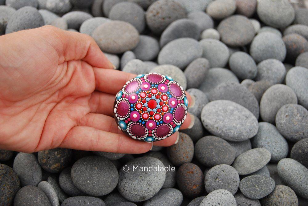 Summer Mandala Stone 27. Mandalaole.com