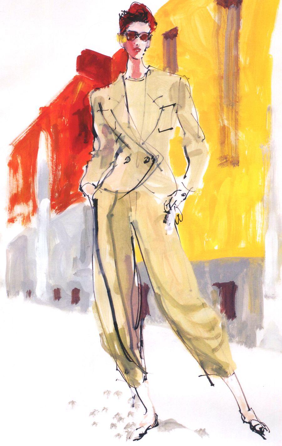 Kenneth Paul Block  Illustrators  Pinterest  Fashion