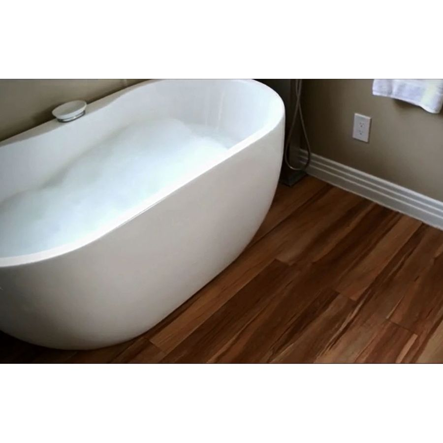 Bathroom showrooms canberra - Smartcore By Natural Floors 12 Piece 5 In X 48 In Canberra Locking