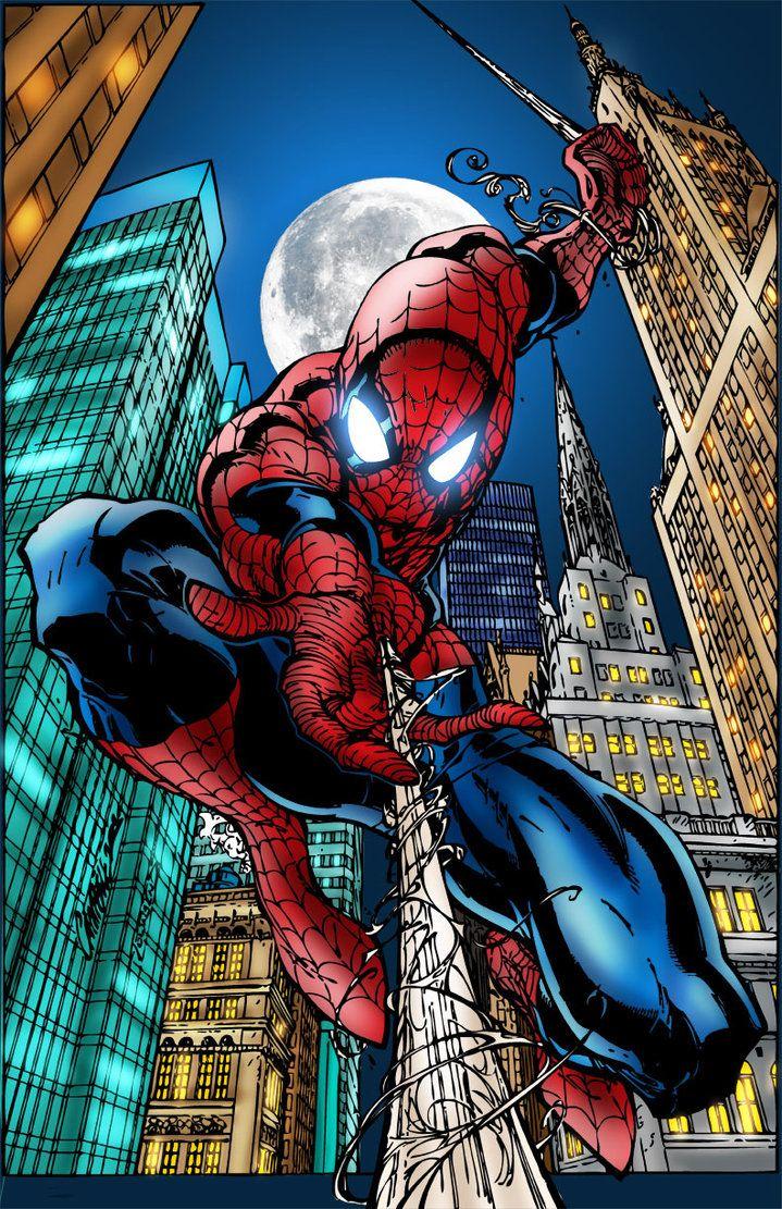Spider-man by MarcBourcier