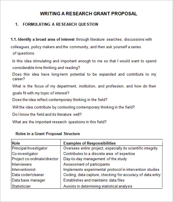 13 Grant Proposal Templates Free Printable Word Pdf Grant Proposal Proposal Templates Proposal Letter