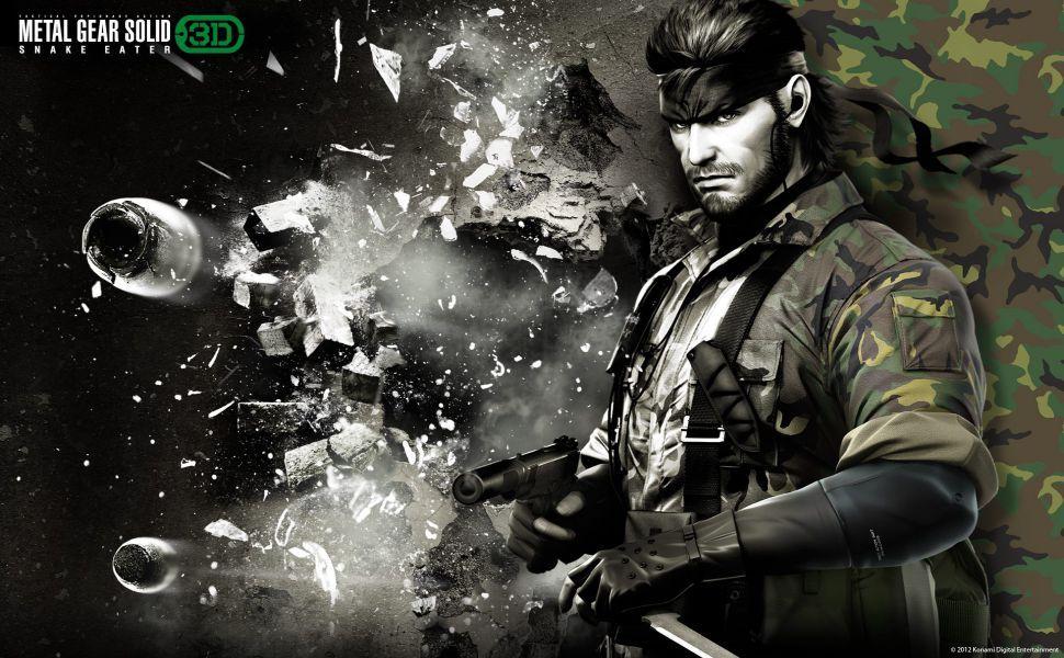 Metal Gear Solid Snake Eater 3d Hd Wallpaper Metal Gear