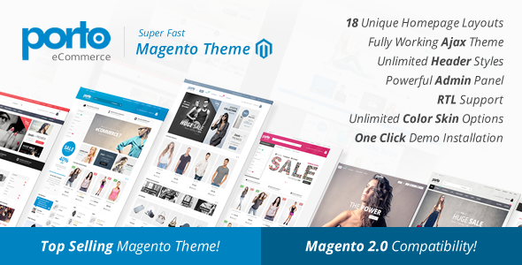 Porto | Ultimate Responsive Magento Theme | theme WordPress, web ...