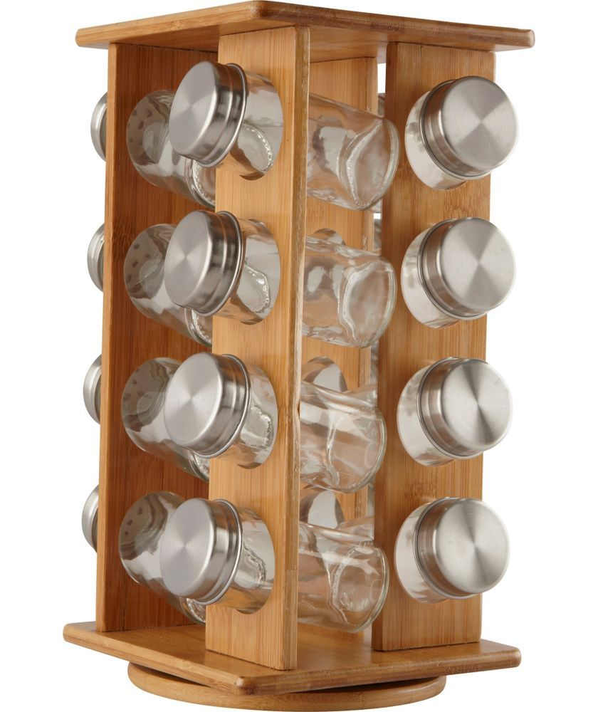 Buy Wooden Revolving Spice Rack At Argos.co.uk   Your Online Shop For