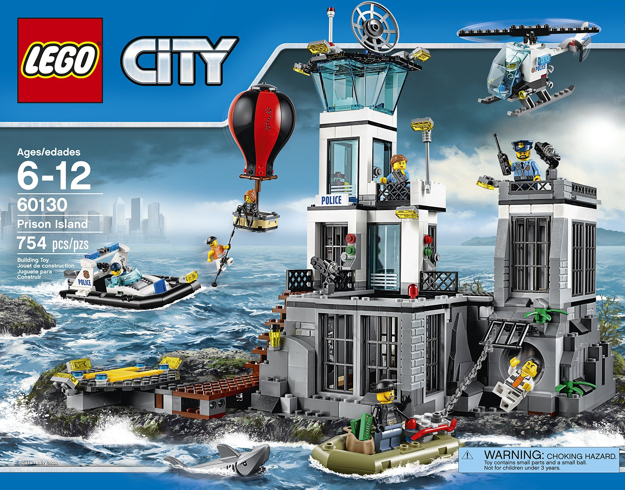 Buy Lego  City Police Prison Island