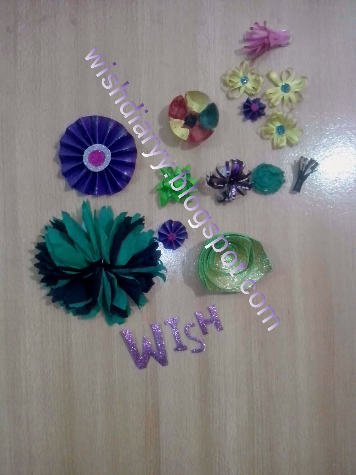Wihs diary glaze paper bow flower art and craft pinterest wihs diary glaze paper bow flower jeuxipadfo Gallery