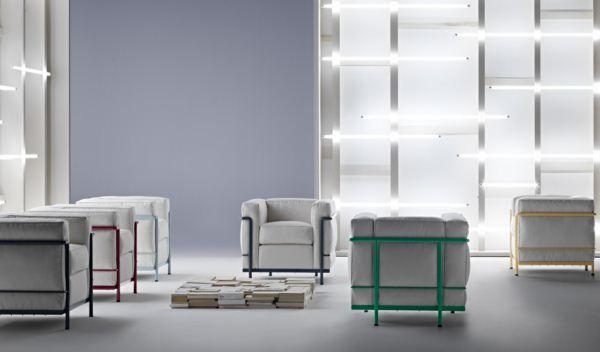 9 Cassina nueva LC2 Le Corbusier