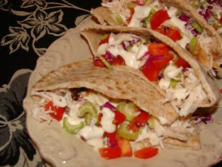 Just Cooking: Roasted Ranch Chicken Pockets