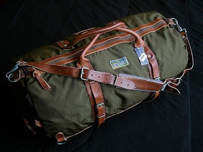 Polo Ralph Lauren Yosemite Duffle Bag 398nwt Explorer