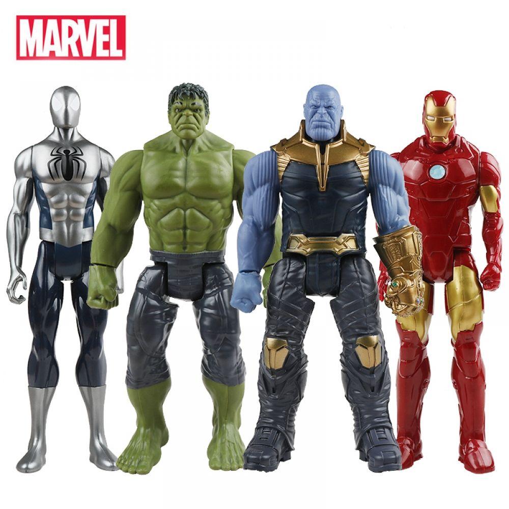 Kids Action Figure Box Toys Hulk Thanos Hulkbuster Avengers Super Heros 12 inch