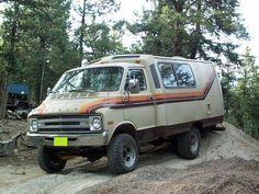 1978 Dodge Transvan 4x4 Mini Motor Home Mini Motorhome