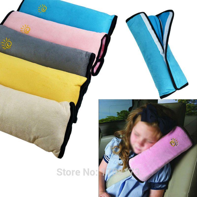 4029c1eaa3a5 Pas cher Universal bébé sièges d auto couverture oreiller épaule ceintures  de sécurité enfant enfants
