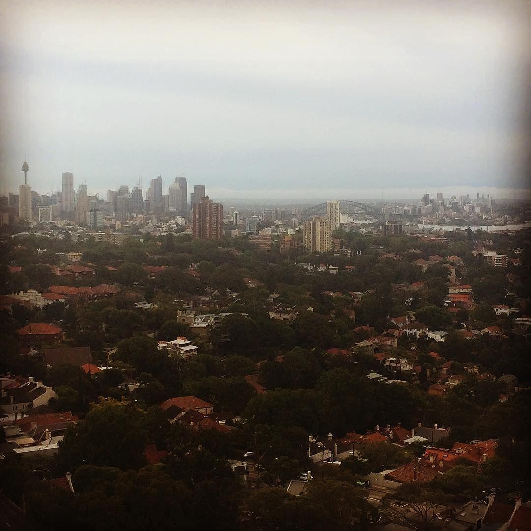 View from our upgraded room #starwars #meritonapartments #theforceawakens #dayofdave #sydneycbd #sydneyharbourbridge #summeratmeriton by brit1705 http://ift.tt/1NRMbNv