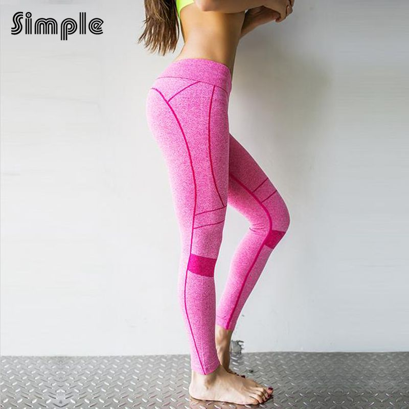2016 Women S Yoga Pants Running Pants Tights Quick Dry Stretch Stripe Trousers Fitnness Gym Leggings Yoga Leggings Are Not Pants Running Pants Yoga Pants Women