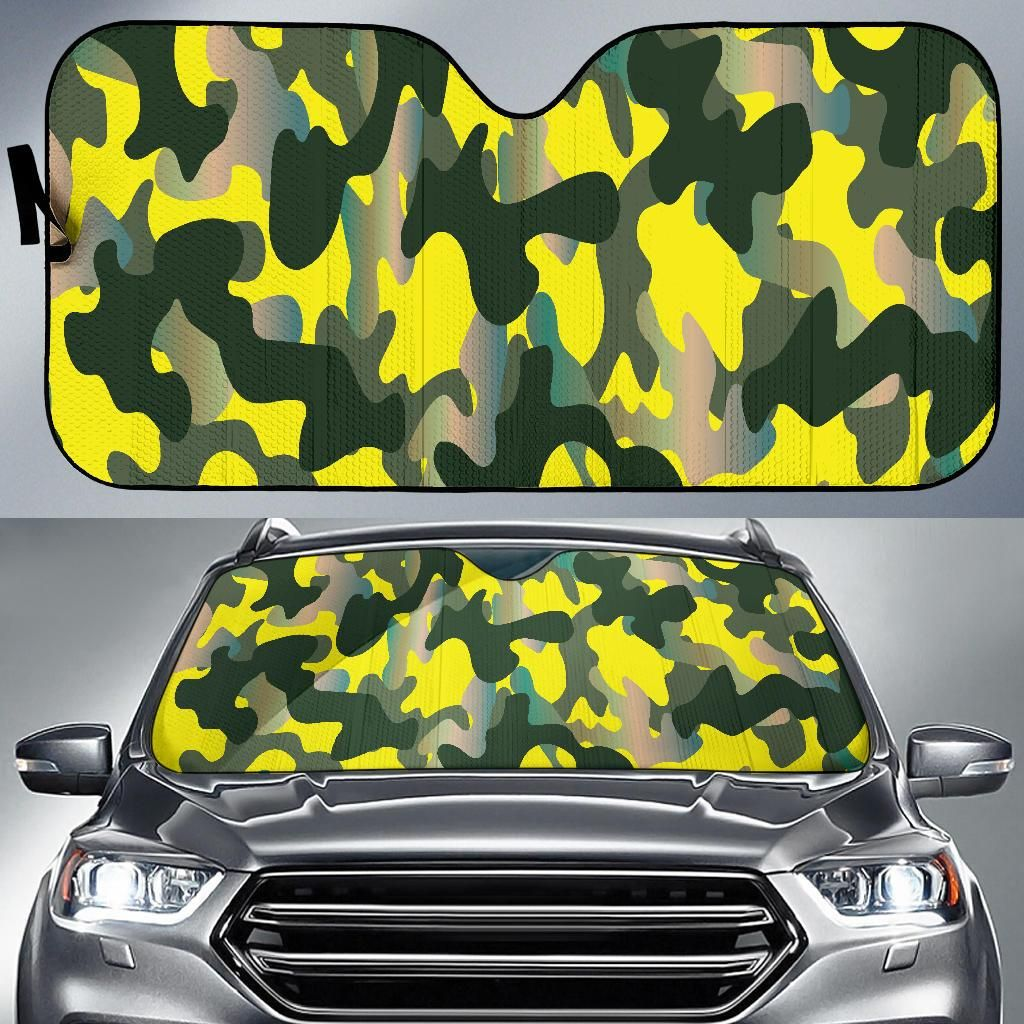 Visible Camouflage Auto Sun Shades