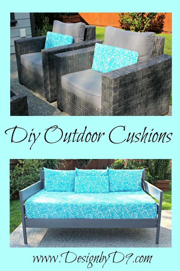 Diy Outdoor Cushions Add A Splash Of Colour Diy