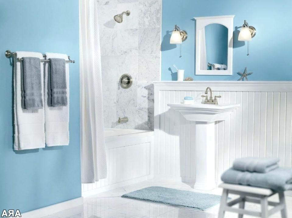 Blaue Und Weisse Badezimmer Ideen Turkis Grau Fliesen Dusche
