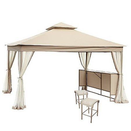 Sears Laurel Park 10 X 12 Replacement Canopy And Netting Set By Garden Winds 199 99 This Replacement Canopy Cover Gazebo Canopy Patio Canopy Canopy Outdoor