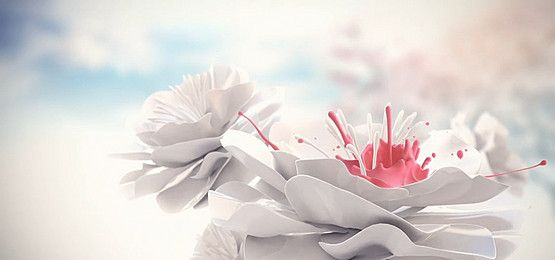 Hand Painted Flowers Vector Free Watercolor Flower Png Images