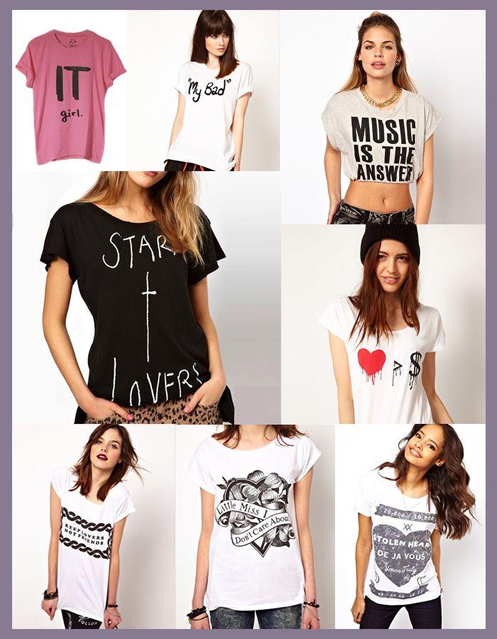 Camisetas con mensaje ¿cúal es el tuyo? www.mesalenalas.es