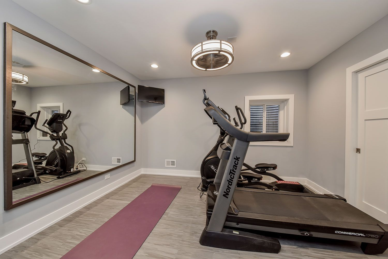Elmhurst Basement Remodeling Project Pictures Sebring Design Build Home Gym Design Home Gym Decor Cheap Basement Remodel