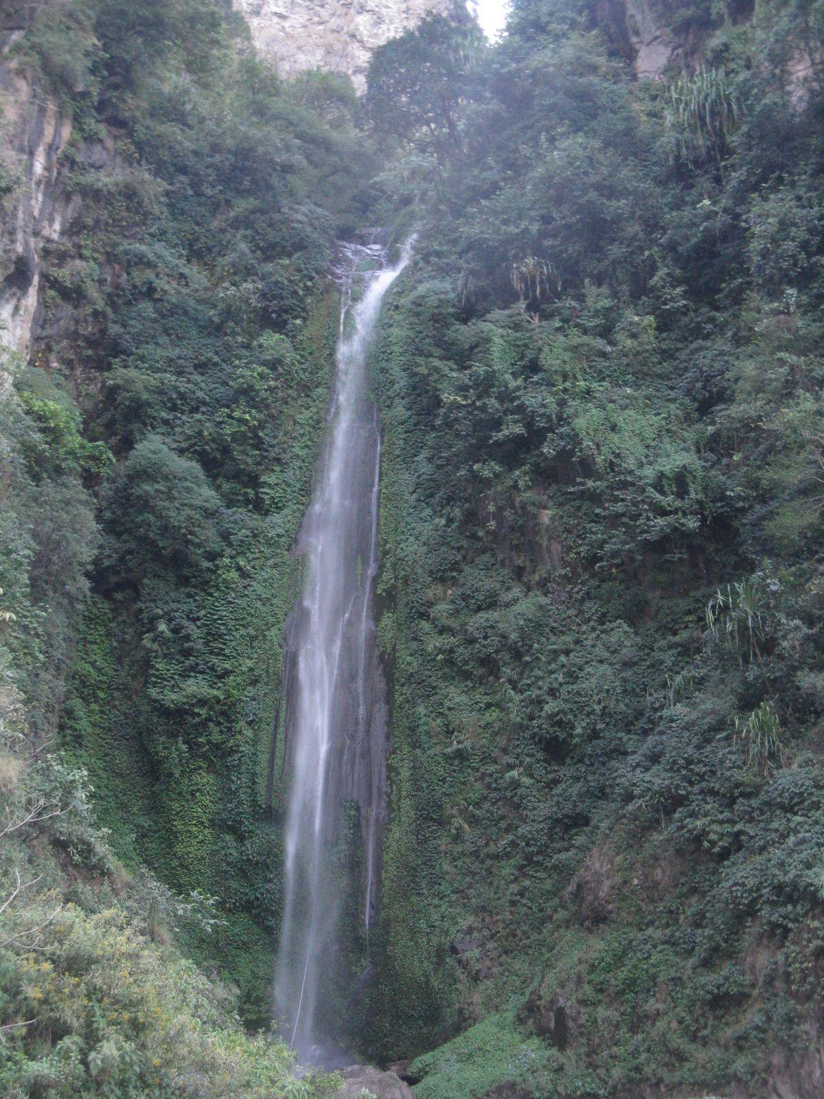 Water Falls In Annapurna Circuit Trekking