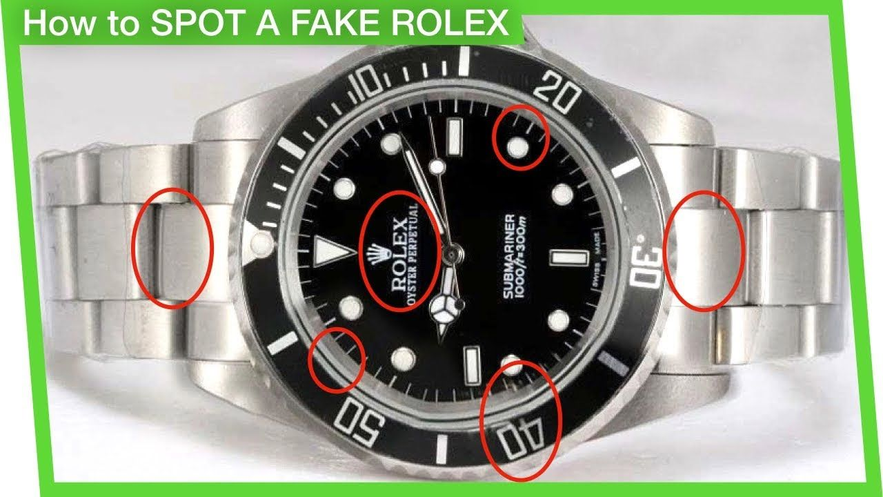how to check if a rolex is real or not
