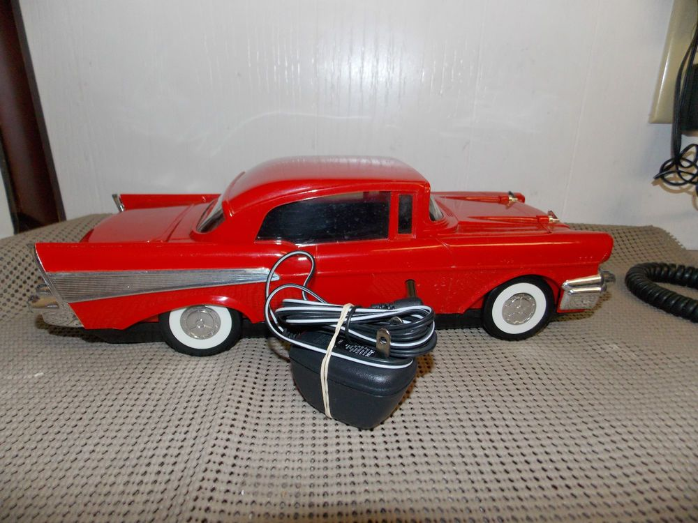 Vintage Red 1957 Chevy Car Vhs Tape Rewinder Works Vintage Electronics Vintage Car