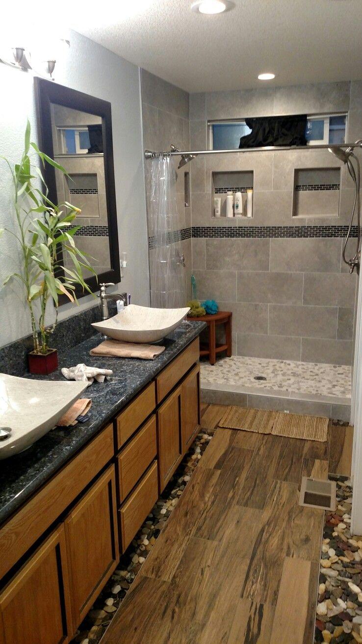 Tile Shower Remodel Suelos Home Depot Suelo Laminado