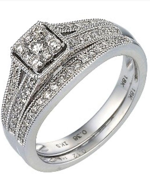 Engagement Ring H Samuel Bridal Set Daimond Ring Pinterest