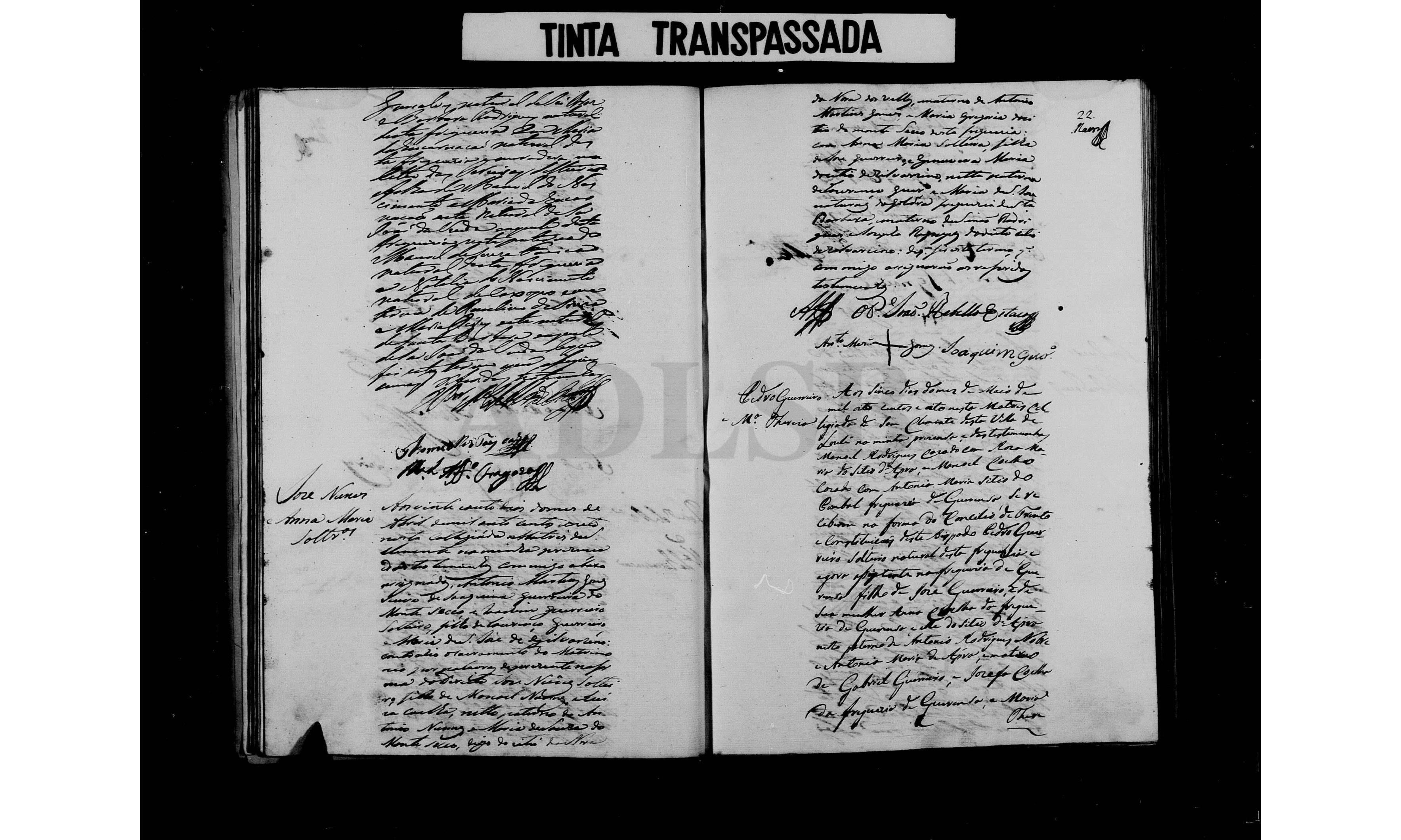 PT-ADLSB-PRQ-PLLE08-002-C11_m0023.jpg - Livro de registo de casamentos - Arquivo Nacional da Torre do Tombo - DigitArq