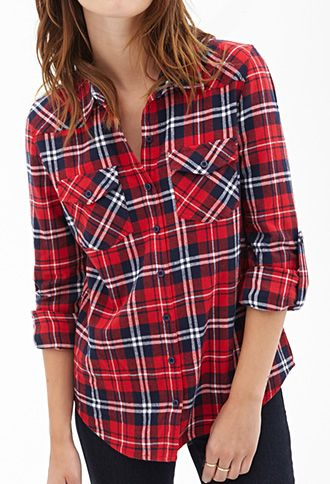 Womens Tartan Shirt | Is Shirt