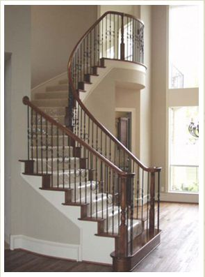 Pin By Jen Bohn On Stairs Stair Remodel Iron Stair Balusters   Iron Balusters For Sale   Double Basket   Rustic   Square   Indoor   Cast Iron
