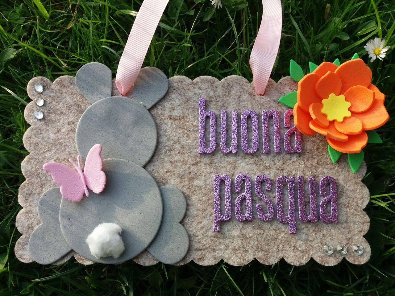 Targhetta Buona Pasqua