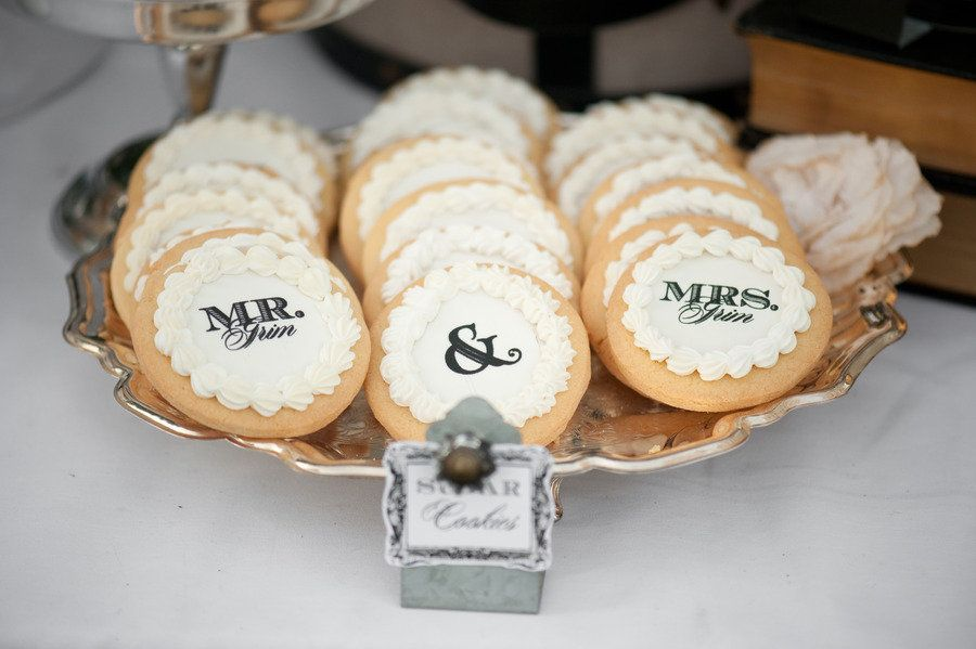 Mr & Mrs Cookies ~ Photography by krissyallori.com, Event Styling by doubletakeeventstyling.com