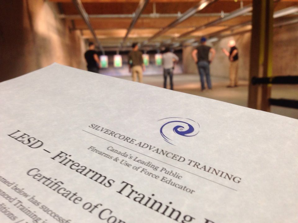 #Silvercore #LESD #Law #Enforcement #Studies #Diploma #Firearms #Training at the#JIBC