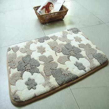 New Bath Mat Rug Pebbles Natural C Fleece Bathroom Carpet Super Absorbent Rugs And
