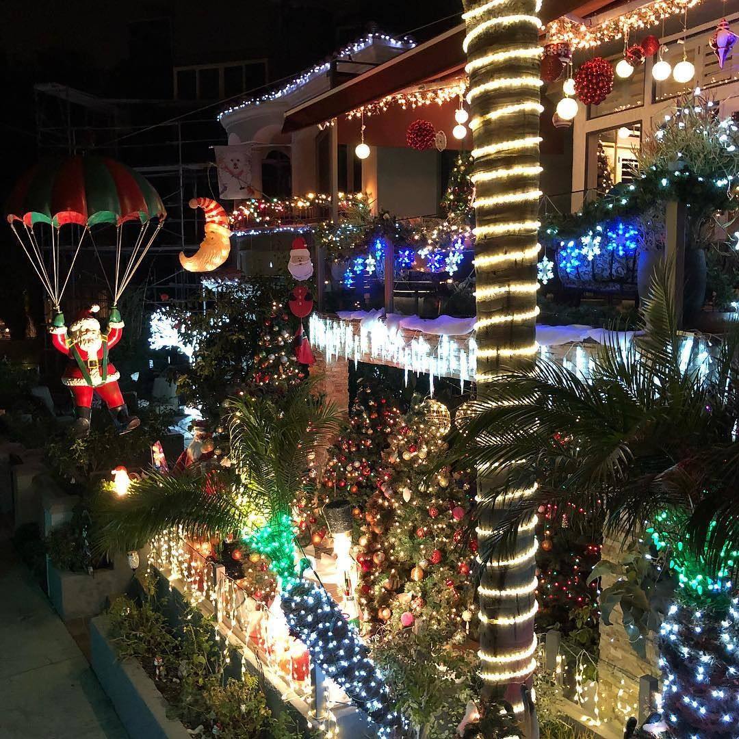 Naples Long Beach Christmas Lights