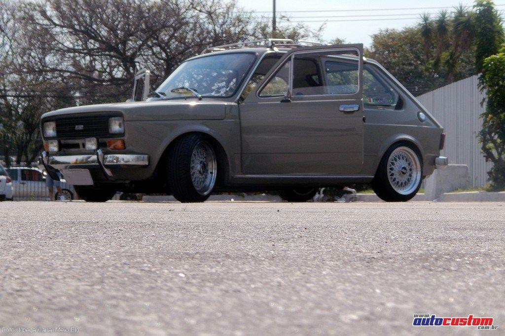 Fiat 147 1978 Restaurado Aro 15 Rebaixado E Rack Vintage Rack