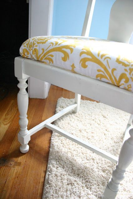 How to upholster a chair...{No. 29 Design}