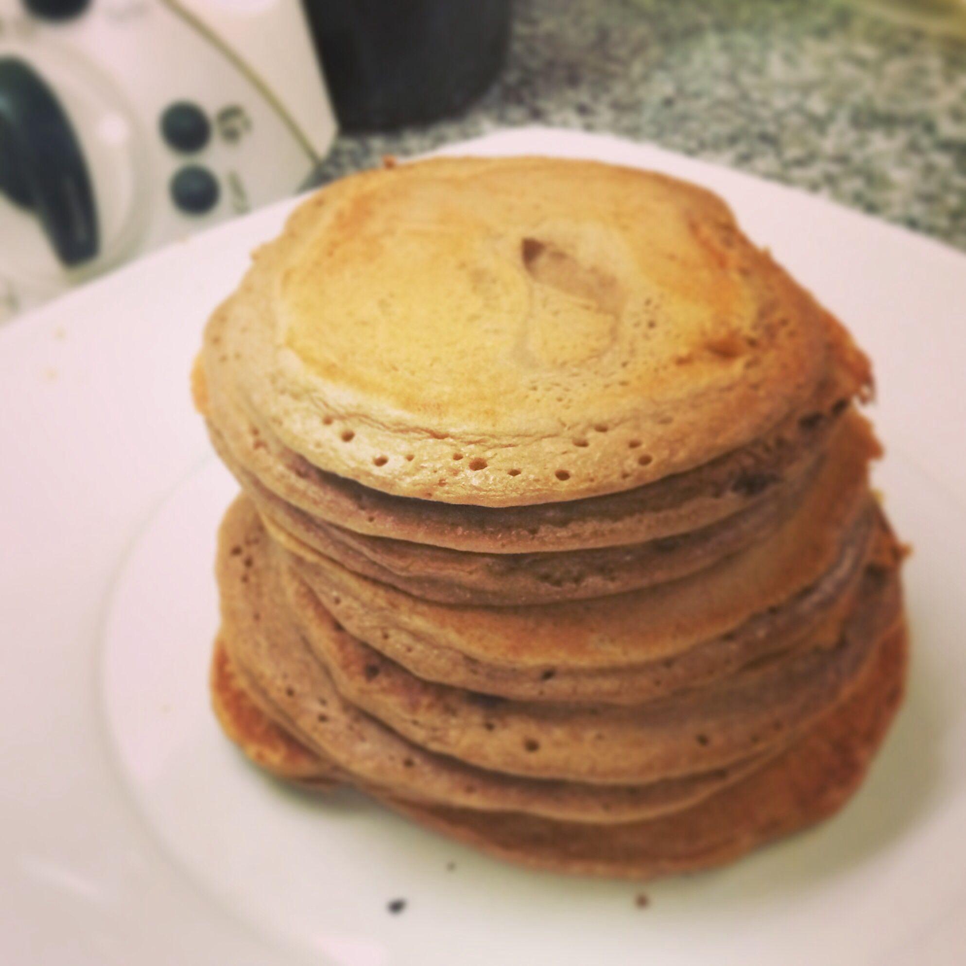 My whey pancakes by bimby
