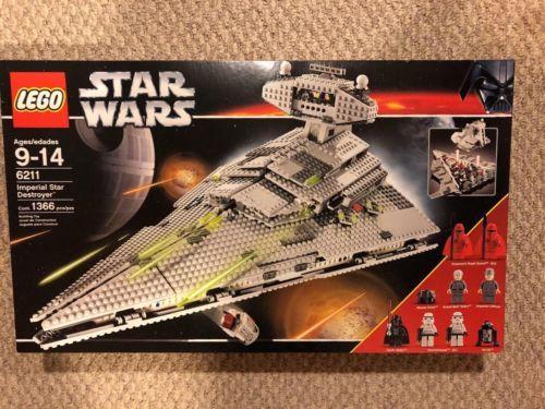 Lego Star Wars Imperial Star Destroyer Set 6211 Legos