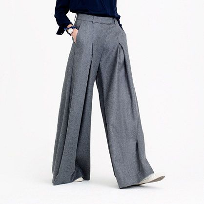 b8f57cb8959 J.Crew - Collection ultra-wide-leg pant in Italian wool