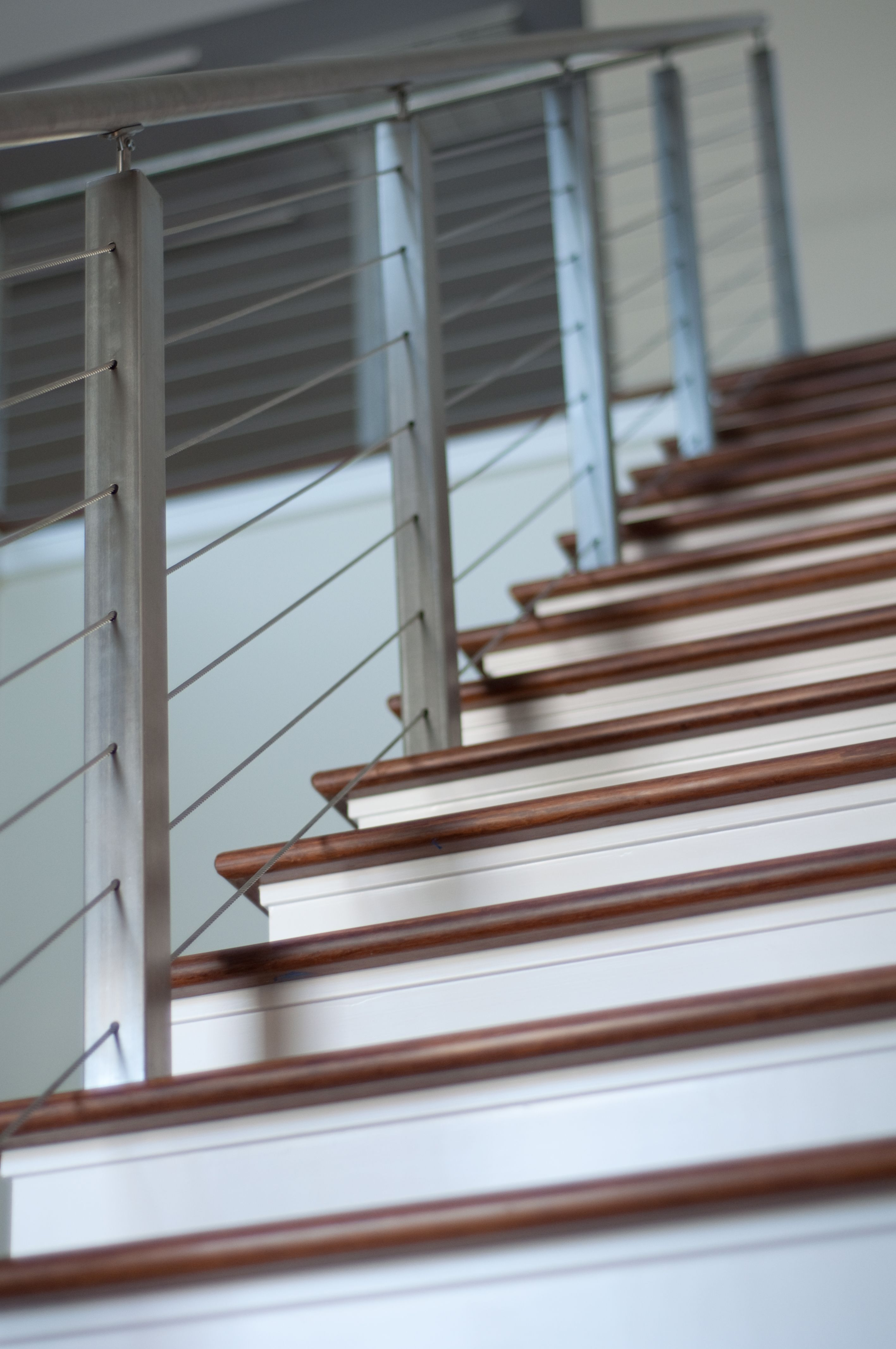 INOX Cable System By Houston Stairs