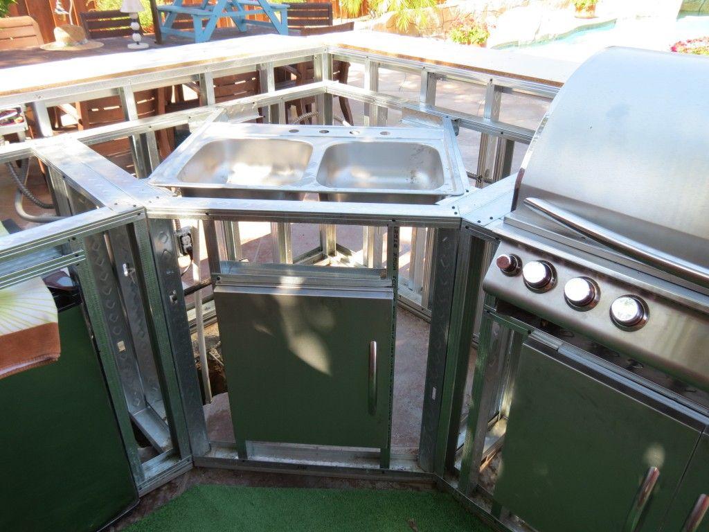 diy built in grill island × 3000 in A BBQ Island