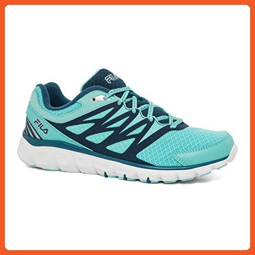 60d72e5a984f3 Fila Women's Memory Sendoff 2 Sneakers, Blue Mesh, 8.5 M - Athletic ...