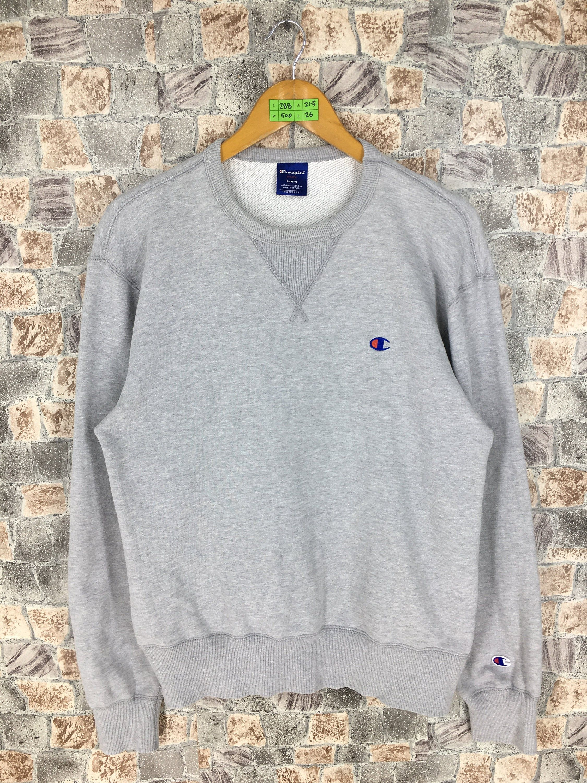 Vintage 1990 S Champion Crewneck Jumper Large Champion Athletic Apparel Streetwear Sweater Champion Champion Sportswear Pullover Sweatshirts Champion Crewneck [ 3000 x 2250 Pixel ]